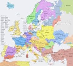 A Map Of Europe A Map Of Europe In 1700 From The Same Old Abandoned Conworld My