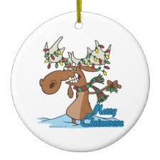cute moose christmas tree decorations u0026 ornaments zazzle co uk