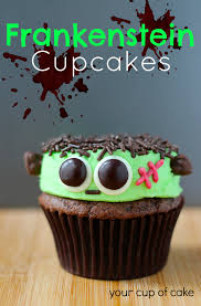 Halloween Bundt Cake Frankenstein Cupcakes Your Cup Of Cake