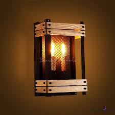 Wood Wall Sconce Fashion Style Wall Sconces Wood Wall Lamps Industrial Lighting