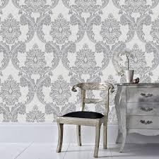 graham u0026 brown 56 sq ft forest bark paintable white wallpaper