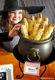 Buffet Style Dinner Party Menu Ideas by Halloween Witch U0027s Fingers Break Sticks Recipe Party Ideas