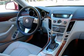 first drive 2008 cadillac cts interior and infotainment photo