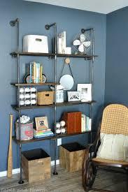 Diy Modern Bookcase Bookcase Diy Modern Coat Rack With Floating Shelves Plumbing