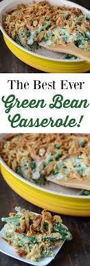 the best green bean casserole no cans just fresh ingredients