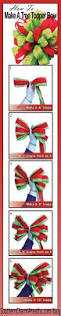 Decorate Christmas Tree With Bows by Best 25 Christmas Tree Bows Ideas On Pinterest Ribbon On