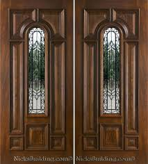 front doors lpd external hardwood carolina 6 panel fanlight