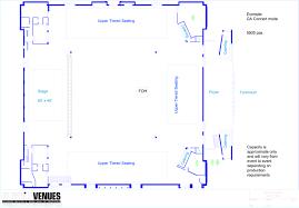 Pavilion Floor Plans by Hordern Pavilion