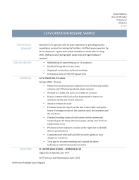 Resume Clinic Operator Resume Free Resume Example And Writing Download