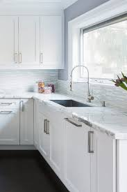 kitchen backsplash pictures with white cabinets 25 white modern backsplash ideas contemporary design style