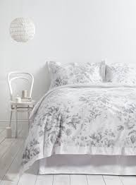 White Cotton Bed Linen - holly willoughby rugby floral duvet cover from 45 this holly