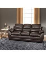 Amax Leather Furniture High Quality Top Grain Leather At Winter Shopping Deals On Brown Leather Sofa