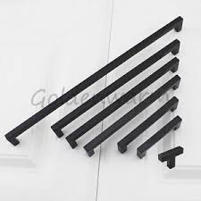 12mm square bar kitchen cabinet door handles black drawer cupboard