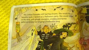 halloween the littlest pumpkin picture book read aloud children u0027s