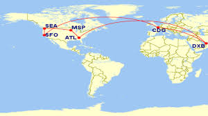 Allegiant Route Map by San Francisco To Dubai 18134 Delta Mqm U0027s For 663 At 3 7 Cpm