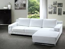 Modern White Bonded Leather Sectional Sofa Modern White Bonded Leather Sectional Sofa Add Tosh Furniture And