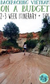 backpacking vietnam on a budget 2 3 week itinerary tips