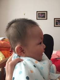 hairstyles that look flatter on sides of head why are the backs of asian babies heads flat quora