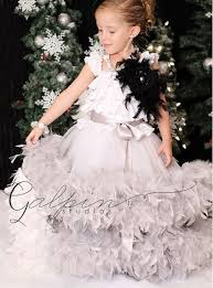 feather dresses for girls