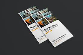 Free Real Estate Brochure Template by Free Real Estate Trifold Brochure Template Brandpacks