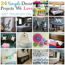 simple diy projects for home decor home and home ideas