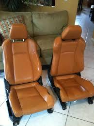 nissan 370z leather seats oem fs 2006 oem 350z burnt orange leather seats my350z com
