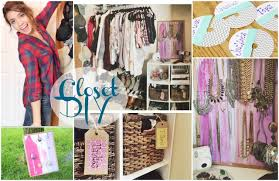 diy closet organization pinterest inspired youtube