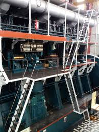 22 500 hp the 1400 metric tons h c oersted engine was for 30 years