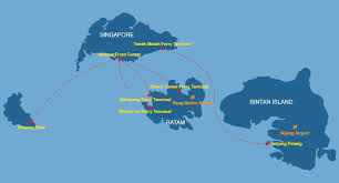map batam route map sindo ferry travel on our new fast ferries