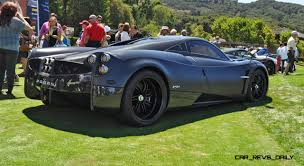 pagani hypercar meet the pagani usa launch fleet five 2015 pagani huayra
