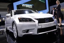 lexus hybrid sedan gs show auto car 2012 iaa 2011 new lexus gs450h full hybrid sedan