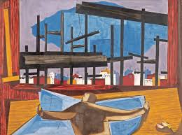 David Hammons African American Flag Artist Jacob Lawrence Serves As Muse For Harlem Exhibition The