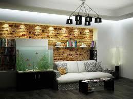 living room ideas with plant decor idea plus book wall home design