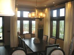dining room window treatments window treatments dining room