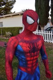 marvel amazing spiderman costume 3d printing halloween