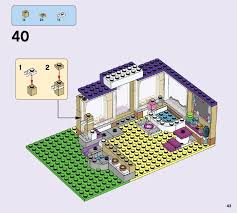 Dog Daycare Floor Plans by Lego Heartlake Puppy Daycare Instructions 41124 Friends