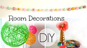 diy spring summer room decorations youtube