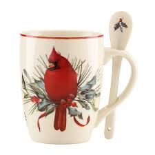 lenox winter greetings cocoa mugs set of 2 walmart com