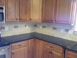 atlanta tumbled marble tile kitchen modern with subway white