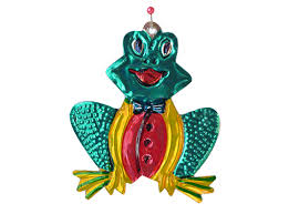 frog buy mexican punched tin ornaments and figures at
