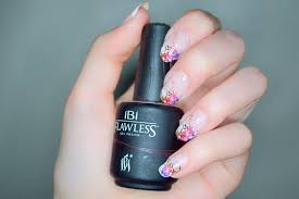 flower french gel nail manicure beauty conspirator