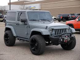 jeep wrangler grey 2015 jeep wrangler in wisconsin for sale used cars on buysellsearch