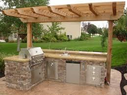 backyard kitchen ideas best 25 backyard kitchen ideas on outdoor kitchens