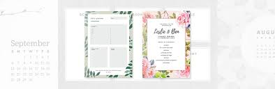 create wedding programs online free online event program maker design a custom event program canva