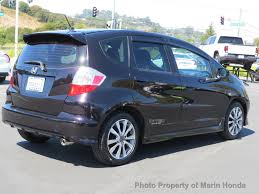 2013 used honda fit 5dr hatchback manual sport at marin honda