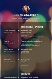 production intern resume samples visualcv resume samples database