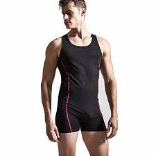 mens one jumpsuit iefiel sleeveless one bodysuit jumpsuit boxers leotard
