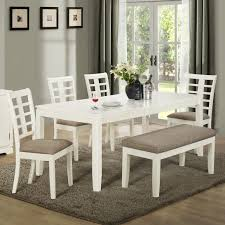 dining room table with bench seat 62 most cool small dining room tables table with bench set and