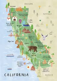 california map in usa best 25 california map ideas on state of california