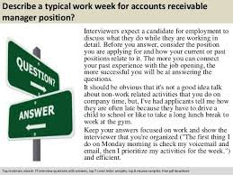 accounts receivable manager cover letter accounts receivable